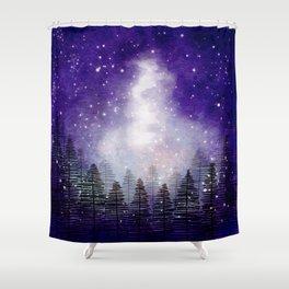 Galaxy (version 1) Shower Curtain