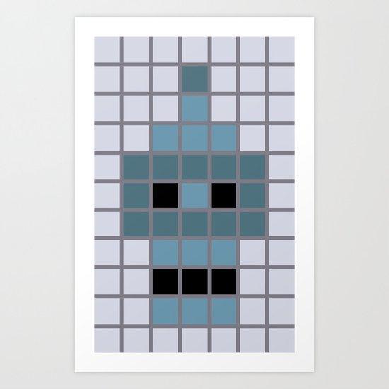 Bender Was Here Art Print