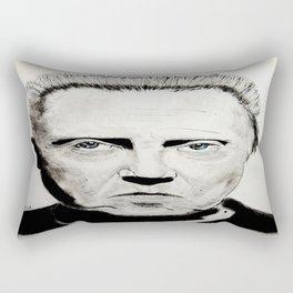 Christopher Walken Rectangular Pillow
