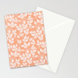 Leaves Pattern 8 Stationery Cards
