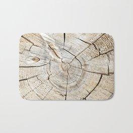 Wood Cut Bath Mat