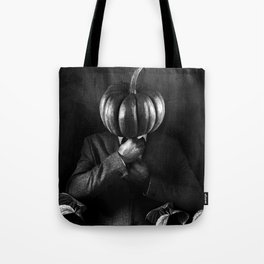 horseless headless businessman Tote Bag