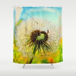 Dandelion 5 Shower Curtain