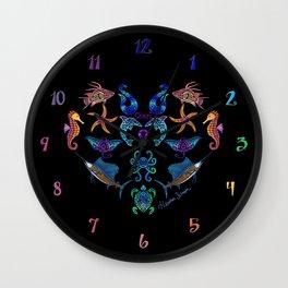 Cheri's Ocean Treasures Wall Clock