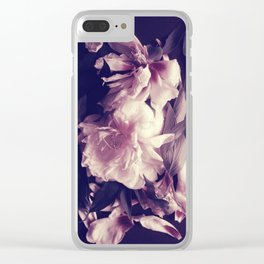 Pink peonies 5 Clear iPhone Case