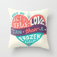 Act of True Love Throw Pillow