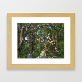 The Garden of Good &  Evil Framed Art Print