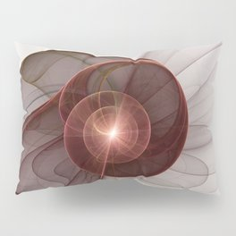 Abstract Digital Art, Fantasy Figure Pillow Sham
