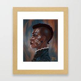 Dark Magic Woman Framed Art Print