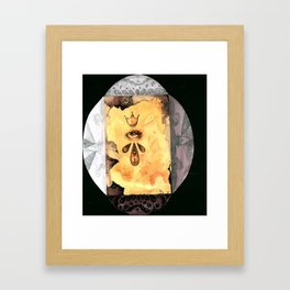 eye of the Prophet// Framed Art Print