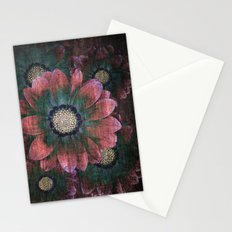 hippie flowers Stationery Cards