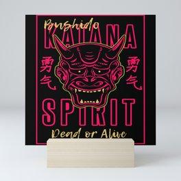 Katana Spirit Mini Art Print