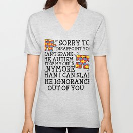 Sorry To Disappoint You Autism Mom Autism Awareness Unisex V-Neck