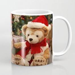 Holiday Christmas Gift Stuffed Animal Teddy Bear Coffee Mug
