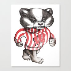 Bucky Don't Care Canvas Print