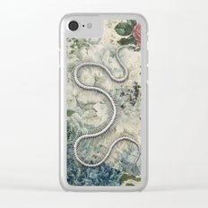 The Twisted Tales We Weave Clear iPhone Case