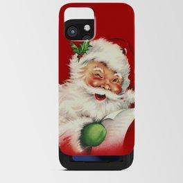 Vintage Santa iPhone Card Case