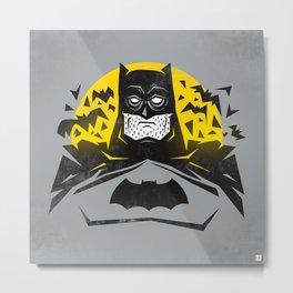 Gotham Knight Metal Print
