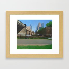 Bowels Of The City Framed Art Print