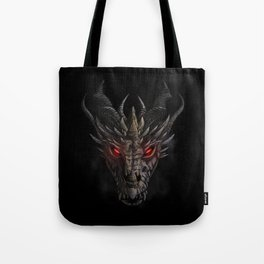 Red eyed dragon Tote Bag