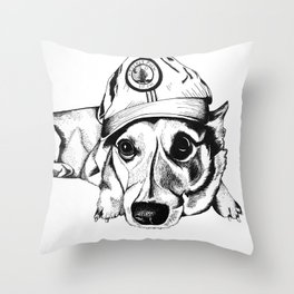 For Cassidy Throw Pillow