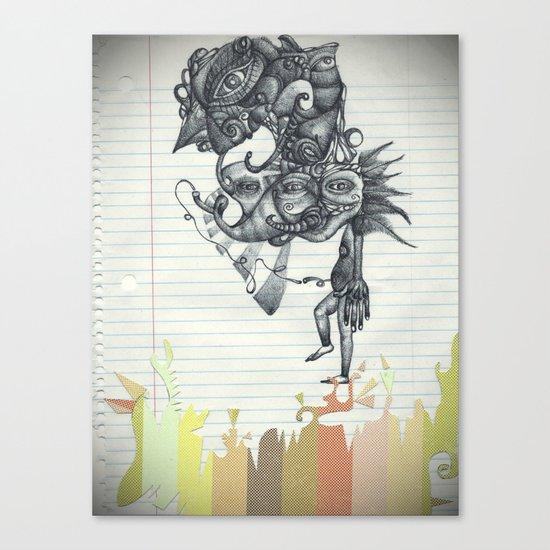 Hombre Simple Canvas Print