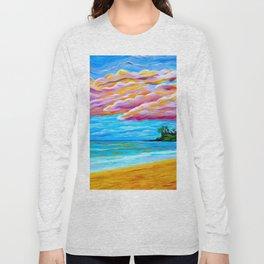 Pāʻia Bay Sunrise Long Sleeve T-shirt