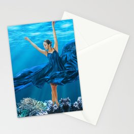 A Dance in a Coral Garden Stationery Cards