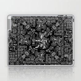 Mayan Spring B&W II Laptop & iPad Skin