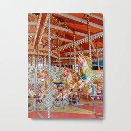 The Pony Ride Metal Print