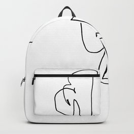 Line Flamingo Backpack