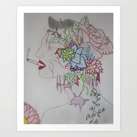 Stealing Beauty Art Print
