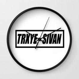 TRXYE sivan Wall Clock