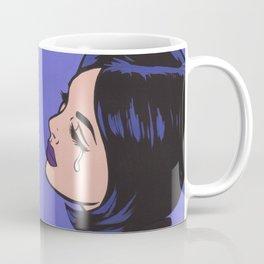 Mod Crying Comic Girl Coffee Mug