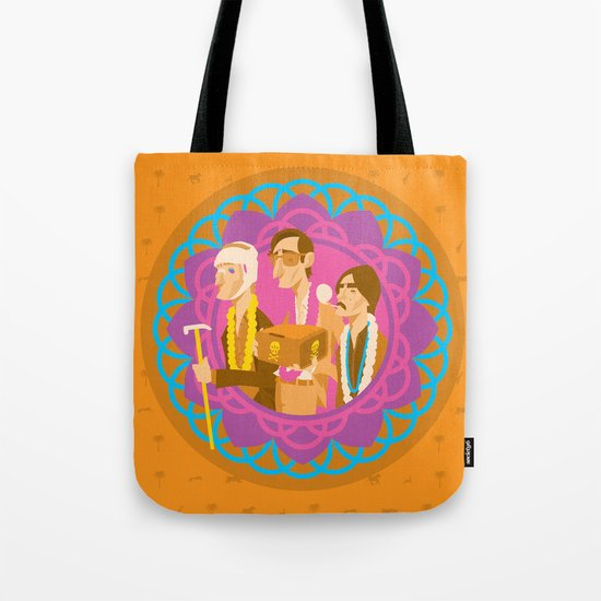 The Darjeerling Limited Tote Bag