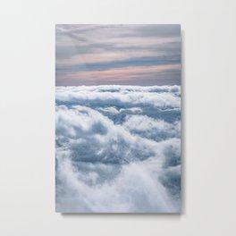 Cloudtop District Metal Print
