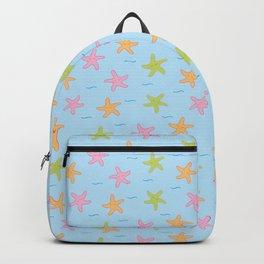 Dancing Starfish // Light Blue Backpack