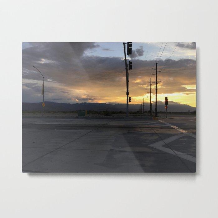 Traffic Metal Print