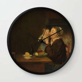 A Mother and her Child, Louis Bernard Coclers, 1794 Wall Clock
