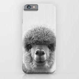 Alpaca Smile iPhone Case