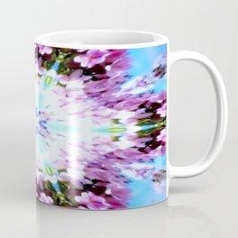 Purple Flower Power Series Coffee Mug