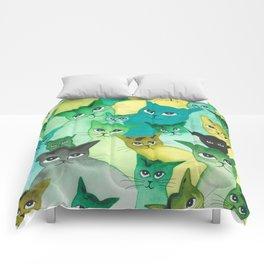 Kiowa Whimsical Cats Comforters