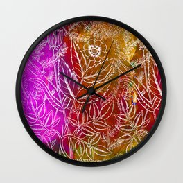 Into the artifice of eternity Wall Clock