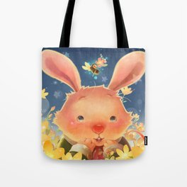 The Whispering Rabbit Tote Bag