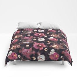 Spooky Type Comforters