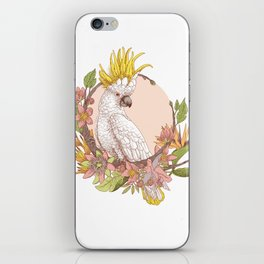 cacatoes iPhone Skin