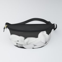 Singapore White Plumeria Flowers the Fragrance of Hawaii Fanny Pack