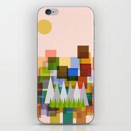 Geometric Landscape iPhone Skin
