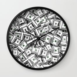 Like a Million Dollars Wall Clock