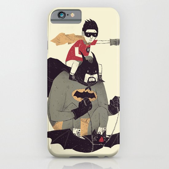 to the batmobile! iPhone & iPod Case